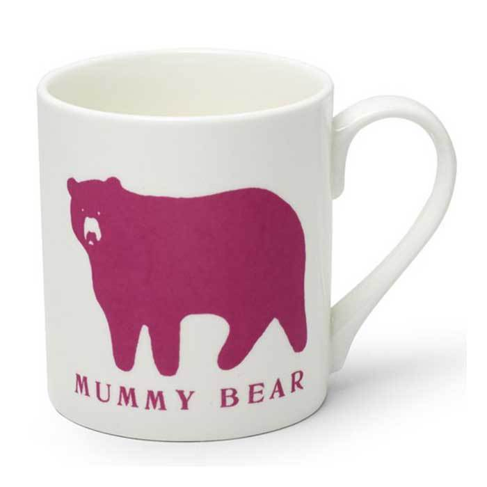 Mummy Bear Mug - - McGlaggan Smith - Yellow Octopus