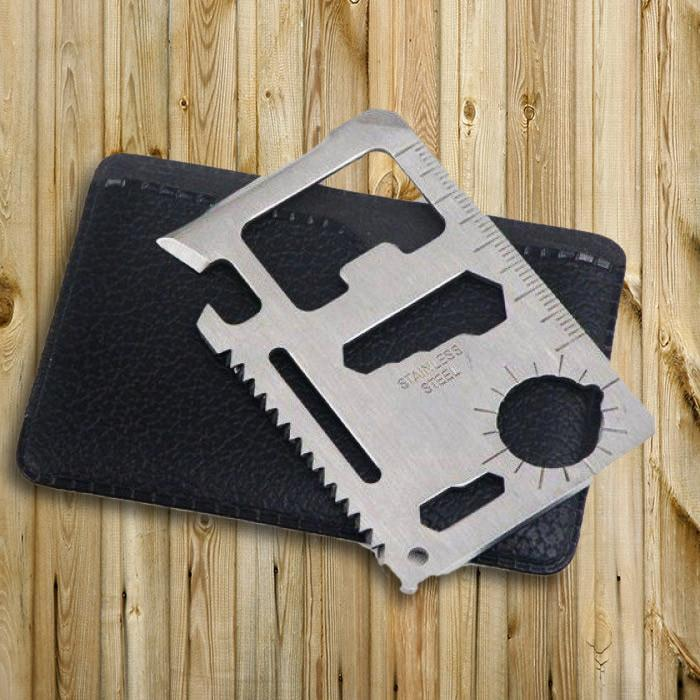 mdi 10-in-1 Stainless Steel Multi-Tool Card