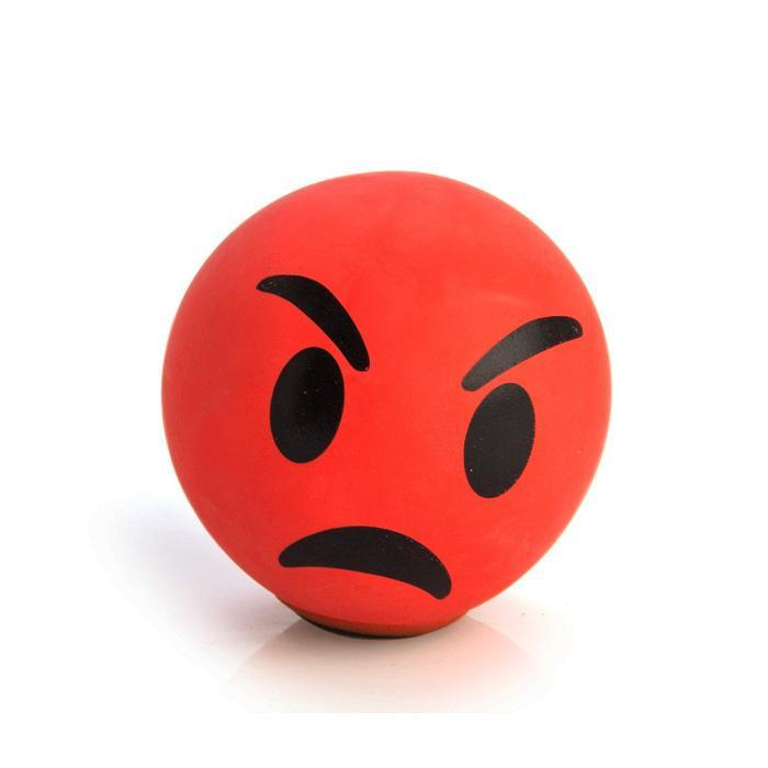 Koolface Angry Face Stress Relief Ball