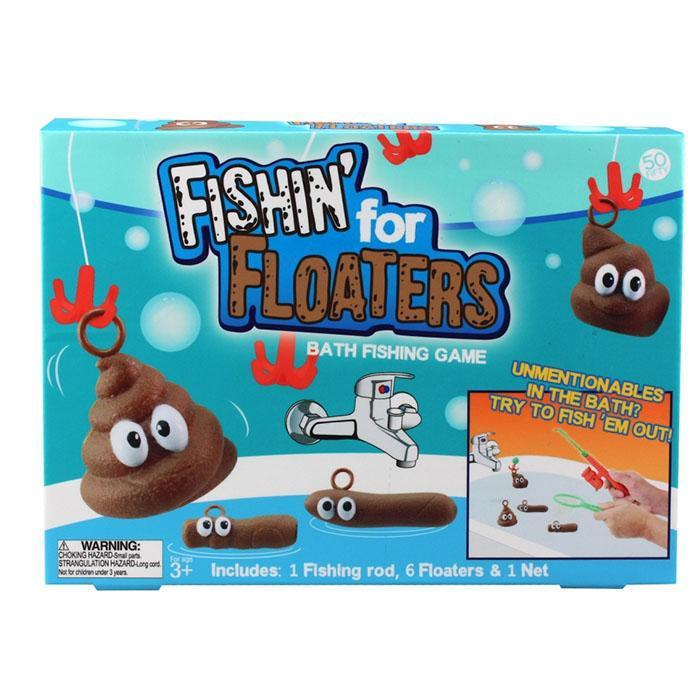 Fishing For Floaters Bath Game - - mdi - Yellow Octopus