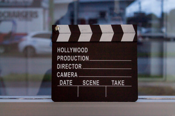 Hollywood Movie Clapper Board | Lights! Camera! Action ...