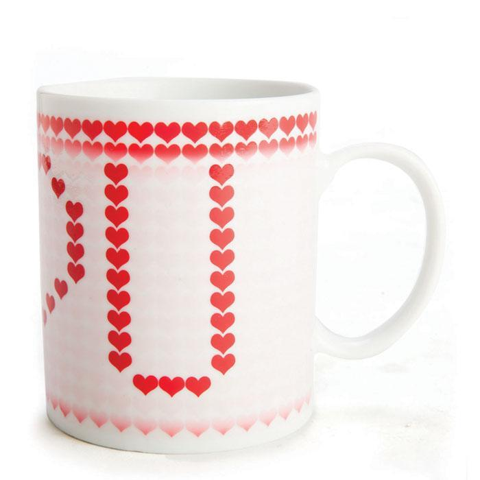 I Love You - Heat Changing Mug - - mdi - Yellow Octopus