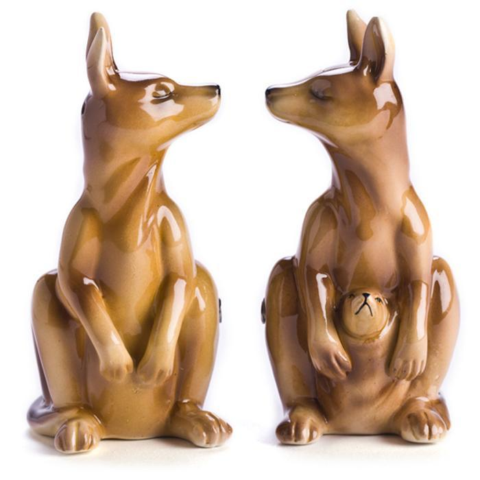 mdi Kangaroo Salt & Pepper Shakers