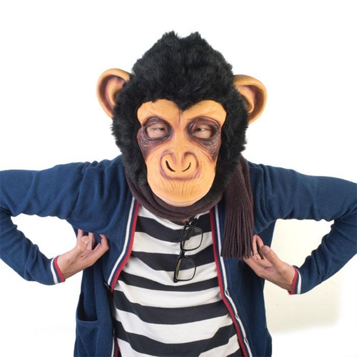 mdi Monkey Party Mask