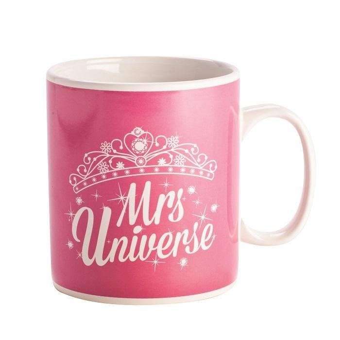 Mrs Universe Giant Coffee Mug - - mdi - Yellow Octopus