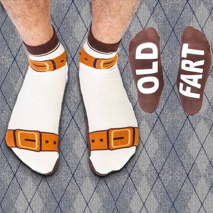 Old Fart Sandal Socks | Christmas gifts for your ex | Beanstalk Single Mums