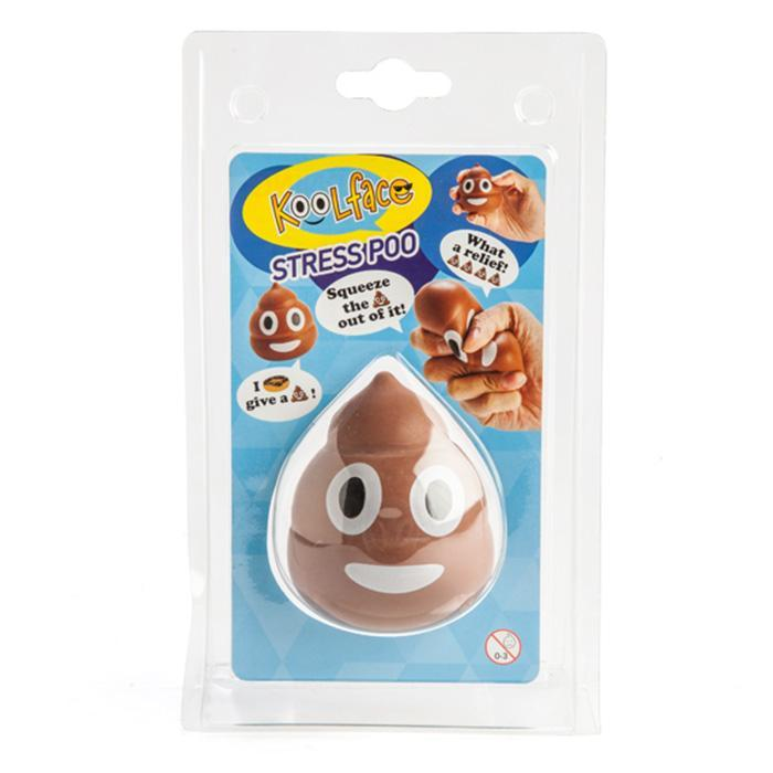 Poo Emoji Stress Relief Ball - - mdi - Yellow Octopus