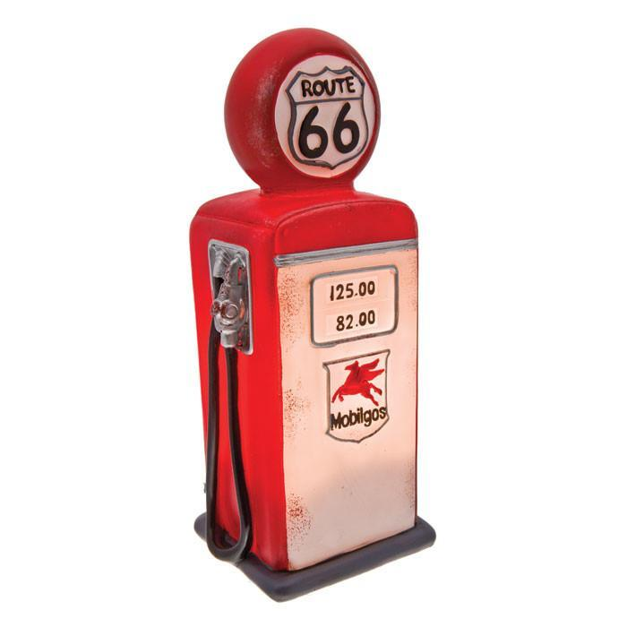 Route 66 Fuel Bowser LED Table Lamp - - mdi - Yellow Octopus