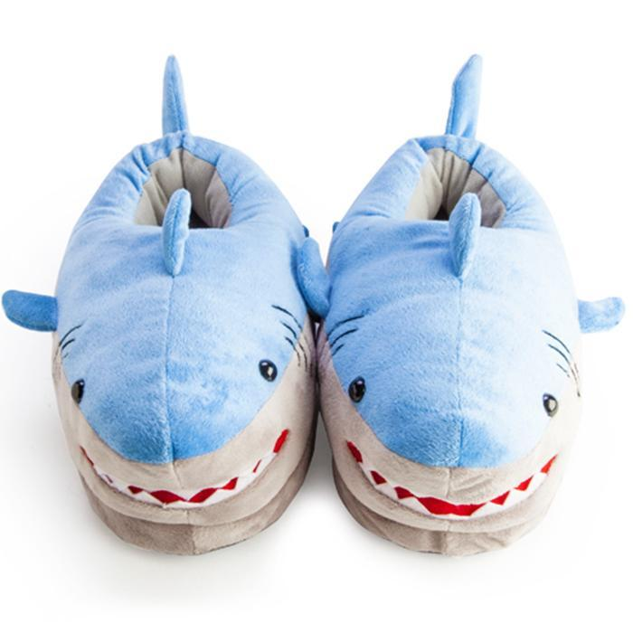 Shark Slippers - - mdi - Yellow Octopus