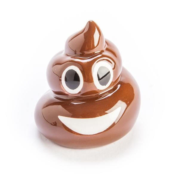mdi Smiling Poo Emoji Salt & Pepper Shakers