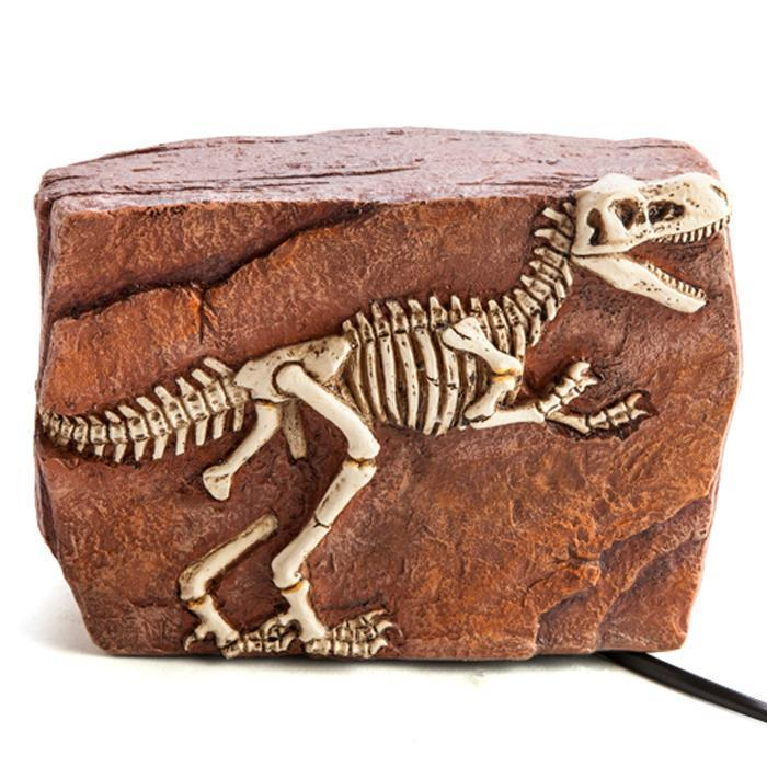 T-Rex Fossil Table Lamp - - mdi - Yellow Octopus
