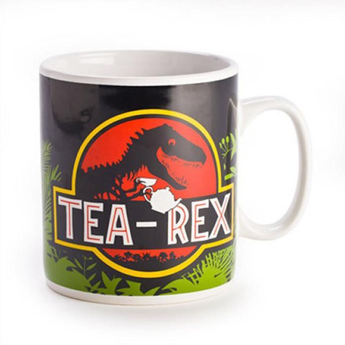 Tea-Rex Giant Mug - - mdi - Yellow Octopus