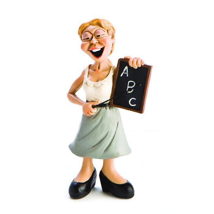 mdi Teacher Ceramic Figurine