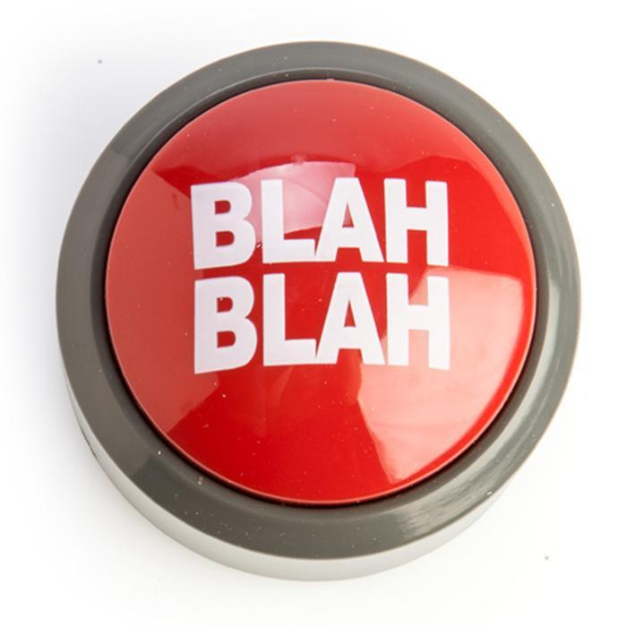 The Blah Blah Blah Button - - Funtime - Yellow Octopus