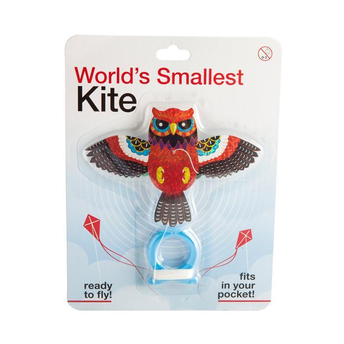 World's Smallest Kite - Owl - mdi - Yellow Octopus