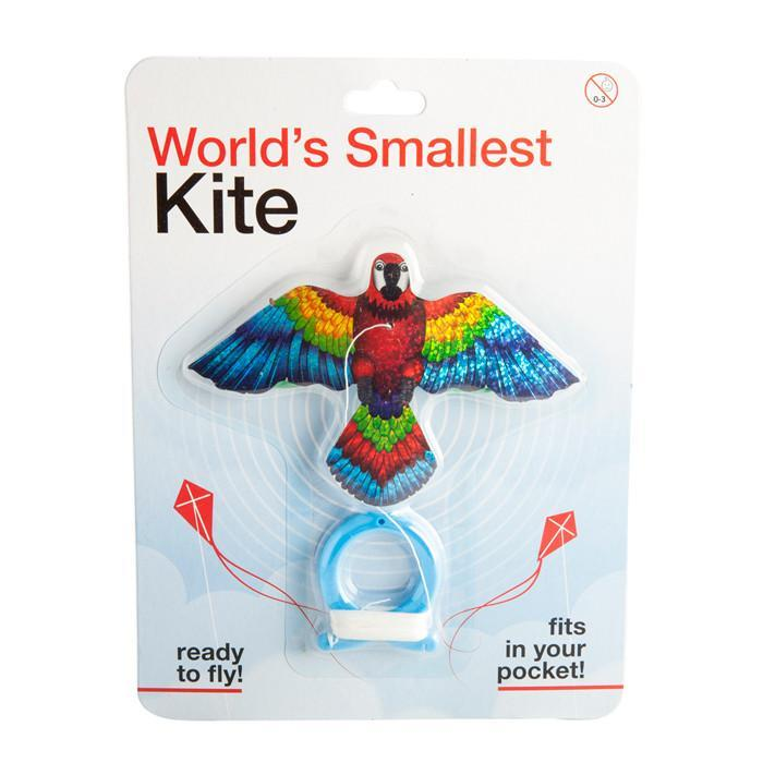 World's Smallest Kite - Parrot - mdi - Yellow Octopus