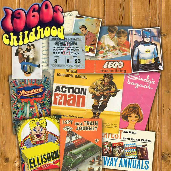 1960s Childhood Memorabilia Pack - - Memorabilia Pack Company Ltd - Yellow Octopus