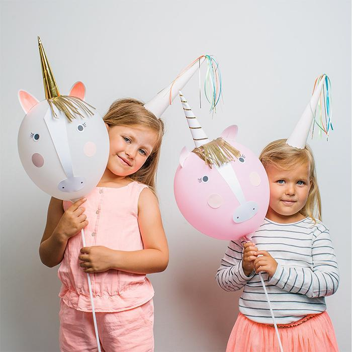 Make Your Own Balloon Unicorns Kit - - Meri Meri - Yellow Octopus
