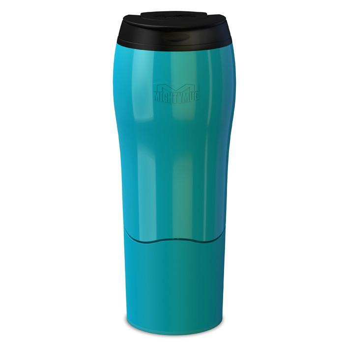 Mighty Mug Go Anti-Spill Mug - Teal (16oz) - Mighty Mug - Yellow Octopus