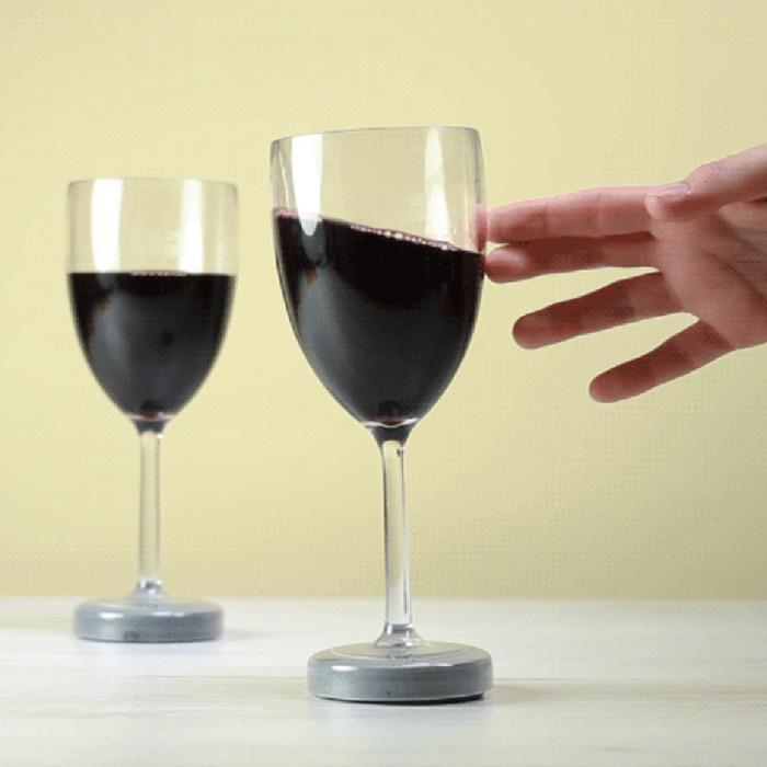 Mighty Mug Mighty Wine Glass: Never Tips Over