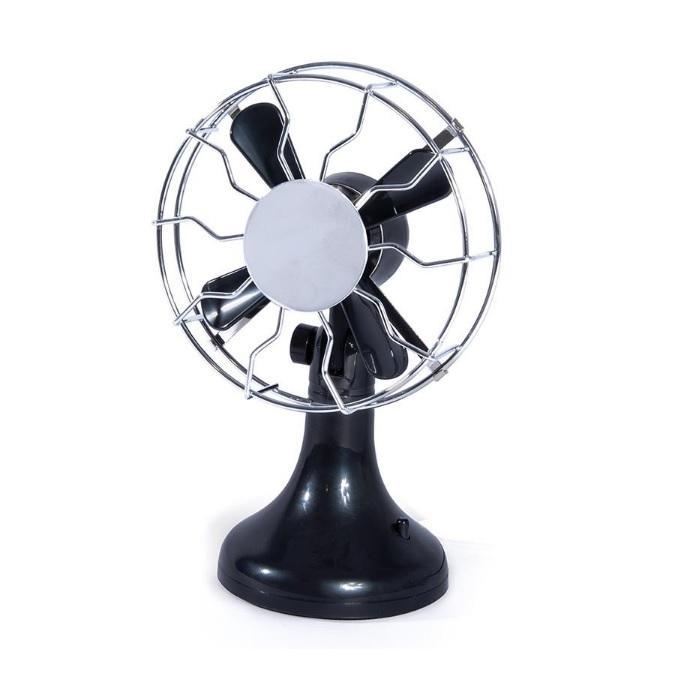 Mr & Mrs. Jones Mini Retro USB Desk Fan