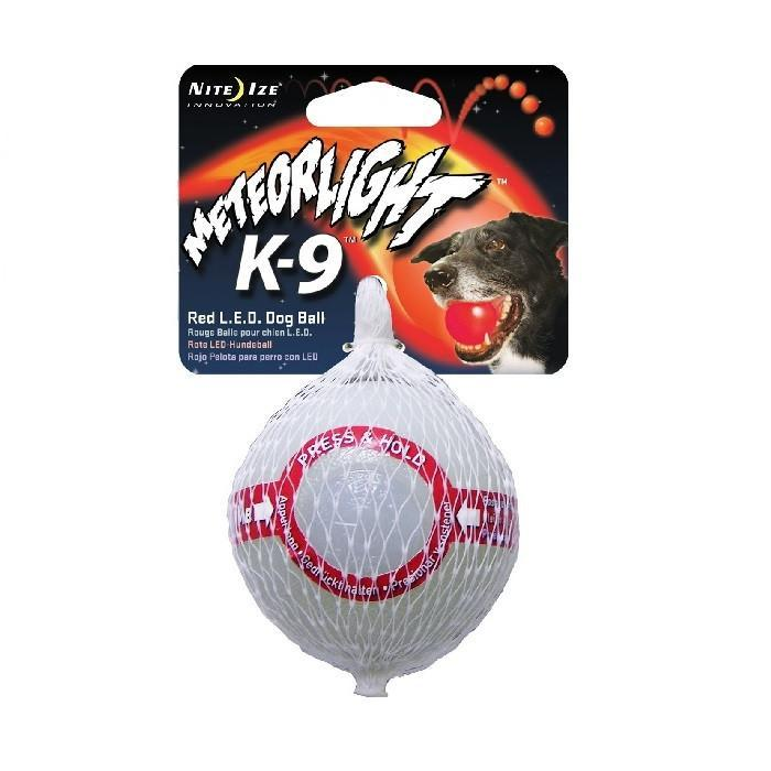 Nite Ize Nite Ize Meteorlight LED Dog Ball Red