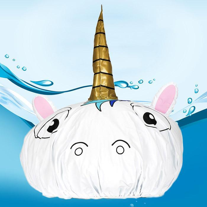 Unicorn Shower Cap - - NPW - Yellow Octopus