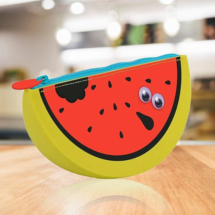 Watermelon Scented Pencil Case - - NPW - Yellow Octopus
