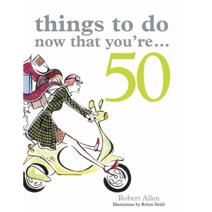 Things To Do Now That You're... Birthday Books - 50 - Office Antics - Yellow Octopus