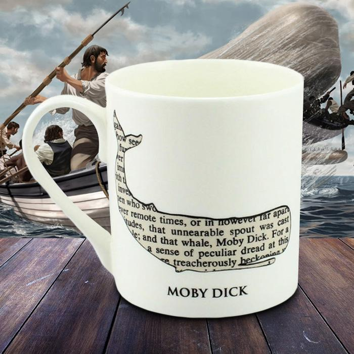 Outliving Moby Dick Literature Mug