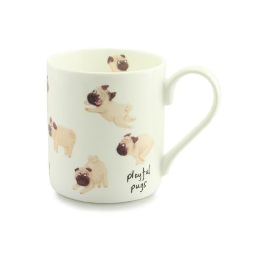 Outliving Playful Pugs Mug