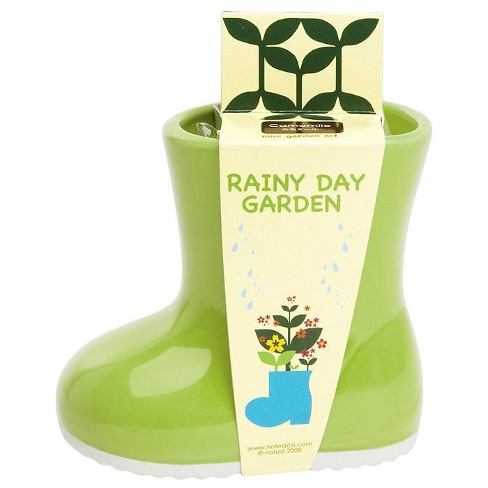 Outliving Rainy Day Garden Planter Boot