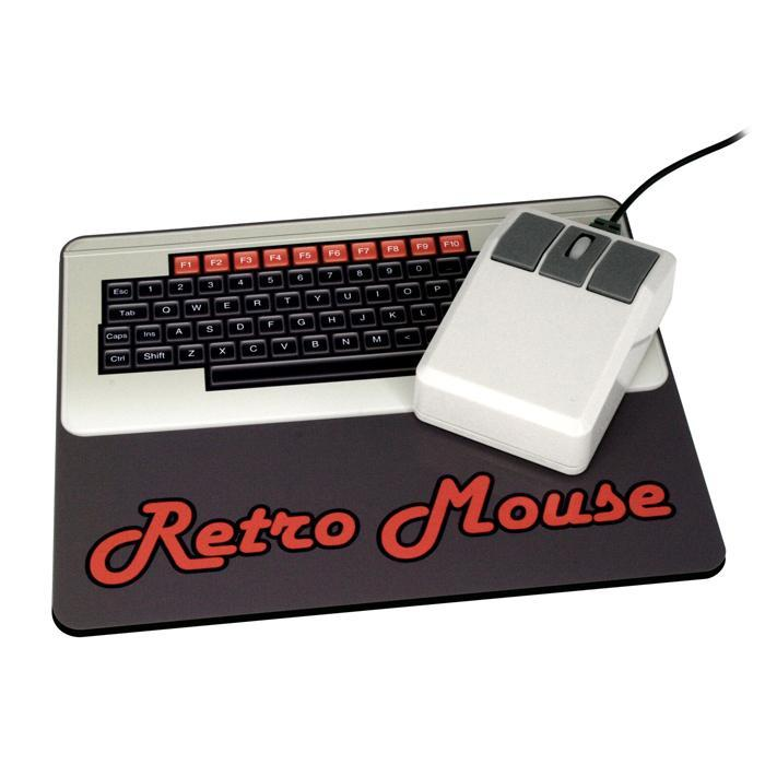 Retro Computer Mouse - - Outliving - Yellow Octopus