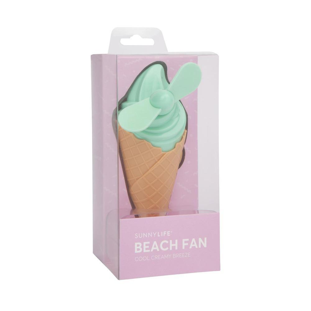 Outliving Sunnylife Cool Creamy Breeze Beach Fan