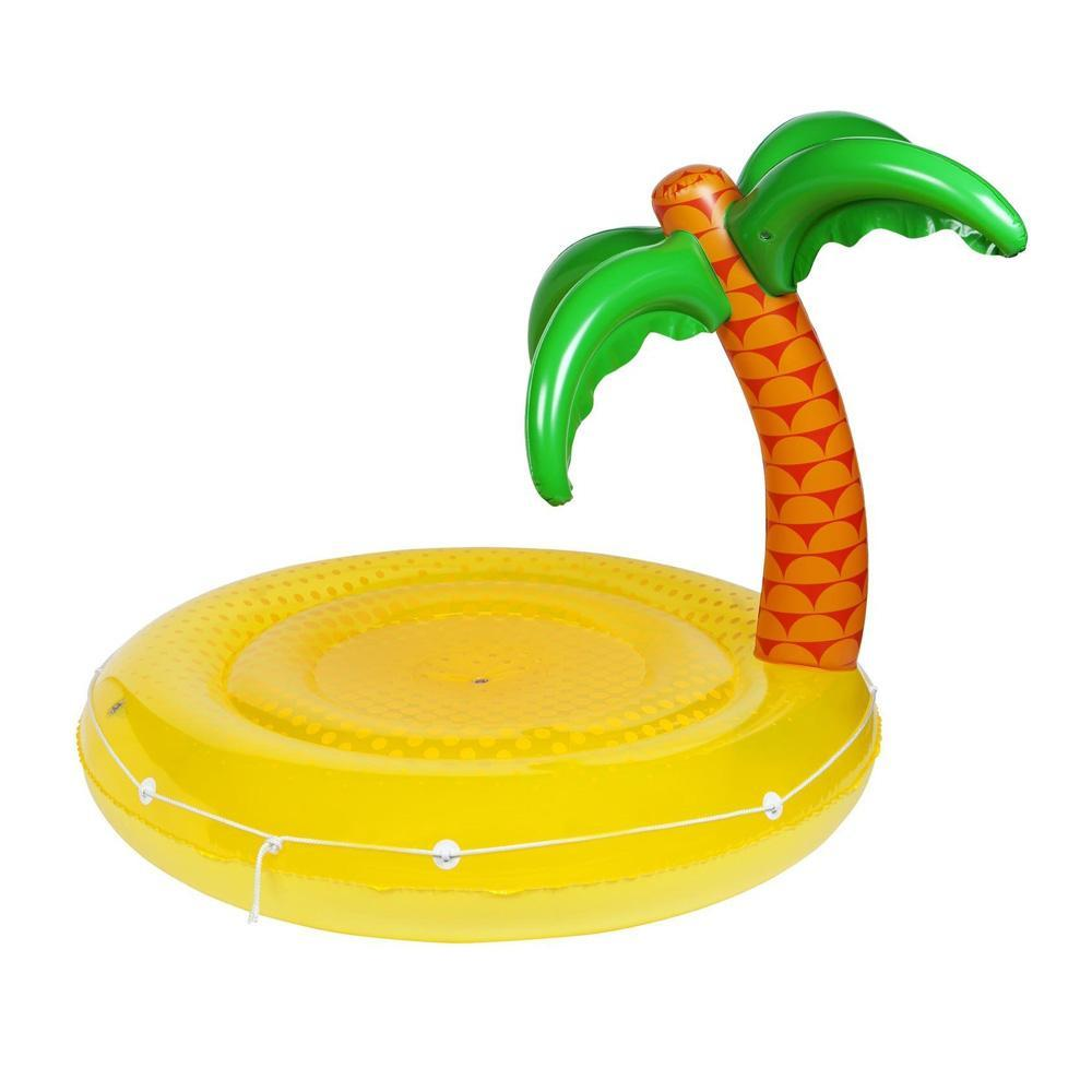 Sunnylife Large Inflatable Tropical Island Float - - Sunnylife - Yellow Octopus