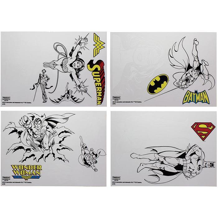 18 DC Comics Superhero Gadget Decals - - Paladone - Yellow Octopus