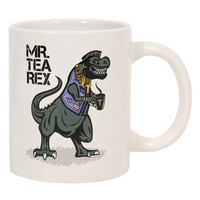 Mr. Tea Rex Coffee Mug | Paladone - - Paladone - Yellow Octopus