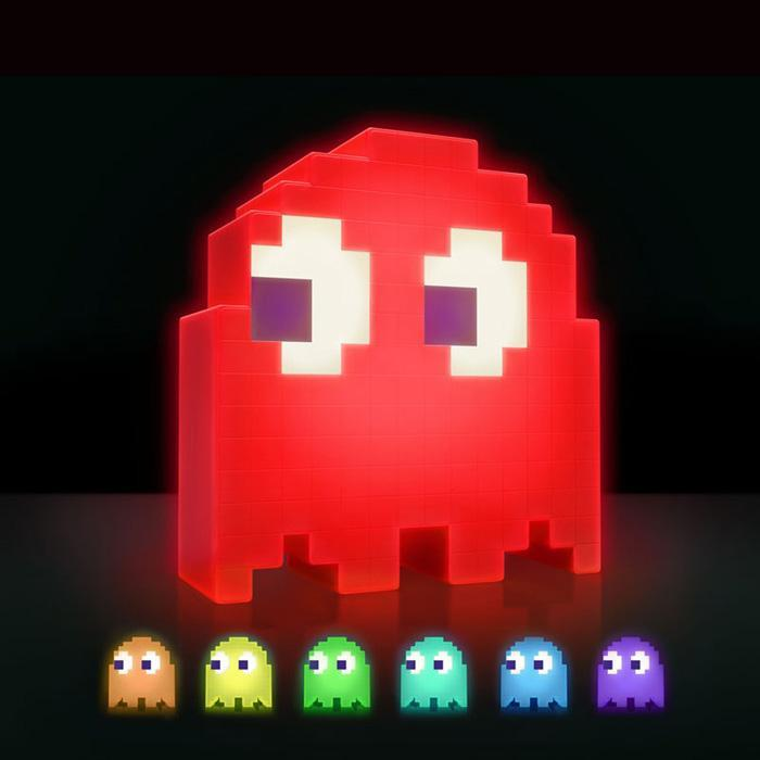 Pac-Man Colour Changing Ghost LED Lamp - - Paladone - Yellow Octopus