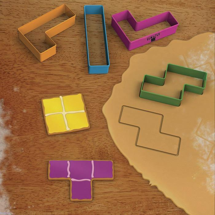 Paladone Tetris Cookie Cutters