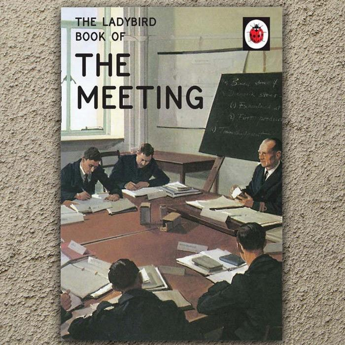 The Ladybird Book of The Meeting - - Penguin - Yellow Octopus