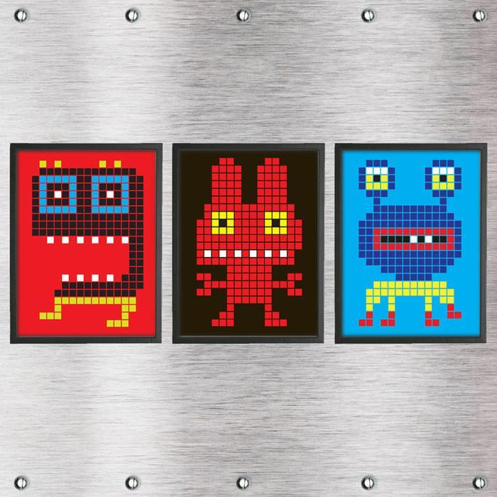 Kids 3 Print Pack - Crazy Bots | Prints To Frame designer poster art ...