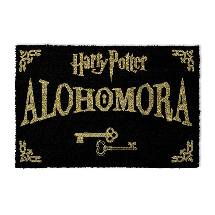 Official Harry Potter Alohomora Door Mat - - Pyramid - Yellow Octopus