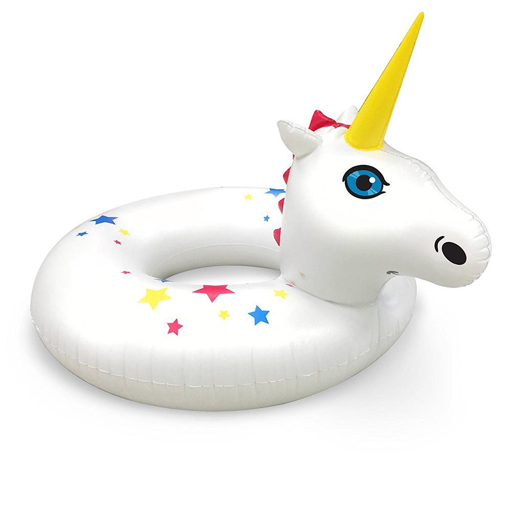 Unicorn Pool Party Floating Beverage Boats - - Big Mouth Inc - Yellow Octopus