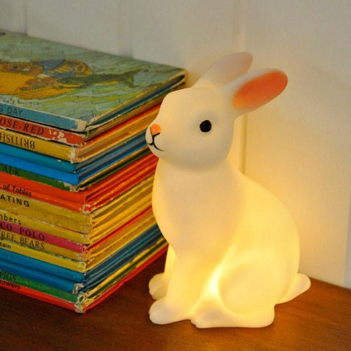 Rabbit LED Night Light - - Rice - Yellow Octopus