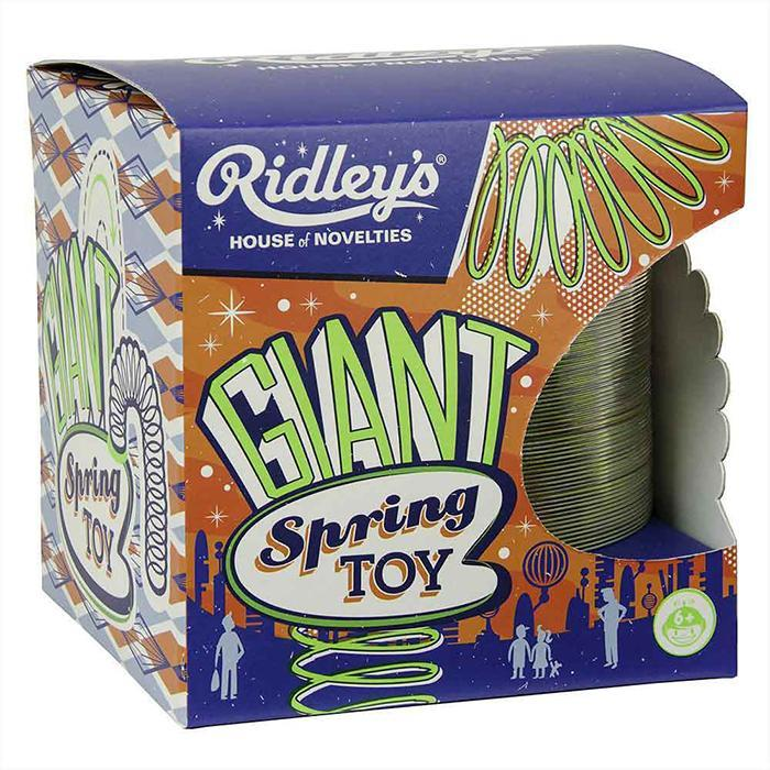 Giant Spring Toy - - Ridley's - Yellow Octopus