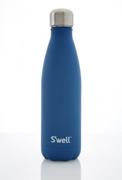 S'well Insulated Stainless Steel Bottle - 500ml Blue Tourmaline - S'well - Yellow Octopus