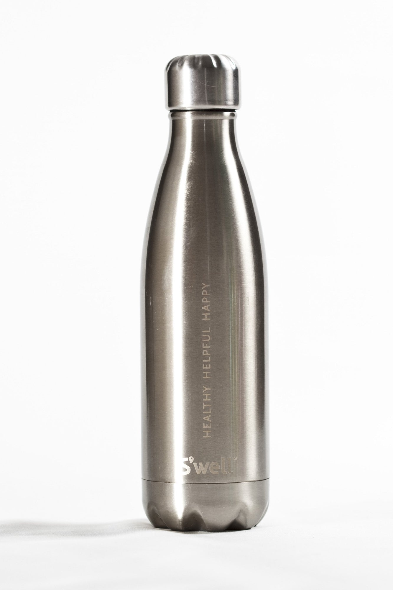 S'well S'well Insulated Stainless Steel Bottle 500ml Silver Lining