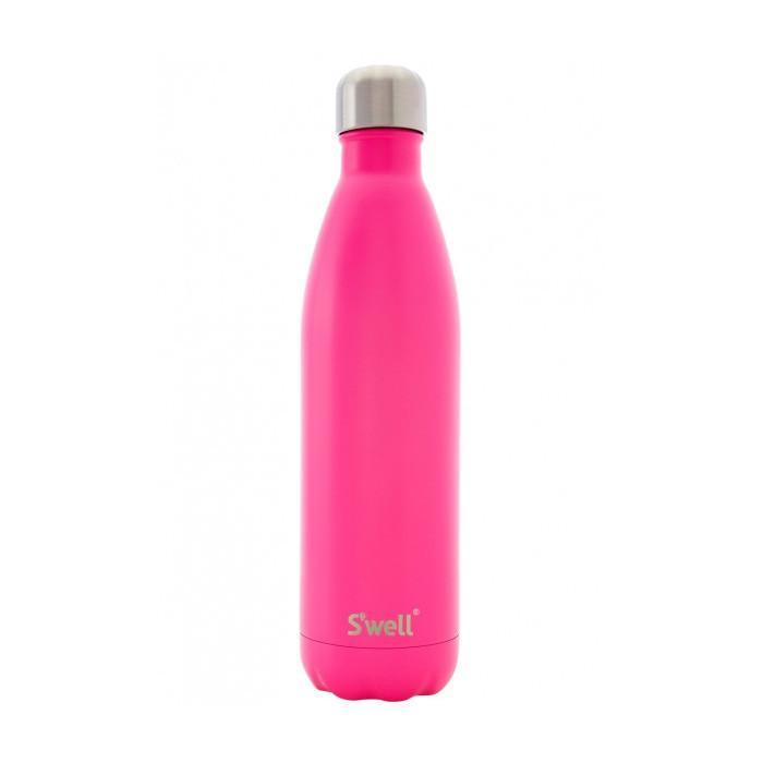 S'well Insulated Stainless Steel Bottle - 750ml Satin Bikini Pink - S'well - Yellow Octopus
