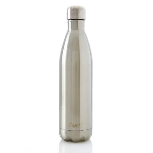 S'well S'well Insulated Stainless Steel Bottle | 750ml Silver Lining