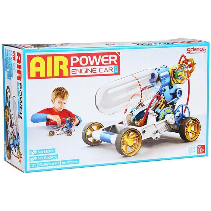 Air Powered Engine Car For Kids